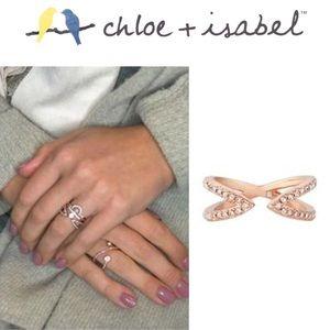 🆕 Sparkling Rosé Open Ring c+i R162CLSRG OSFM